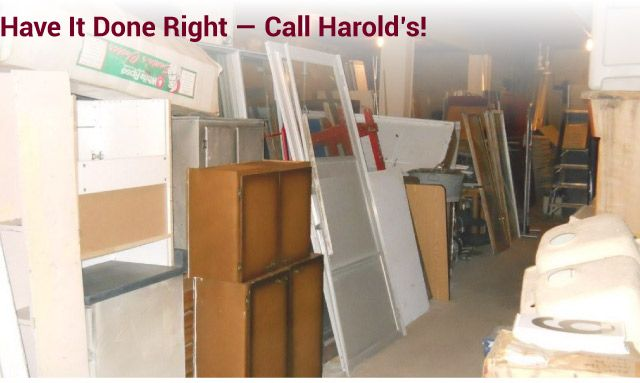 Have it Done Right — Call Harold's! cabinetry