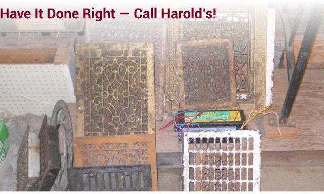 Have it Done Right — Call Harold's! antiques